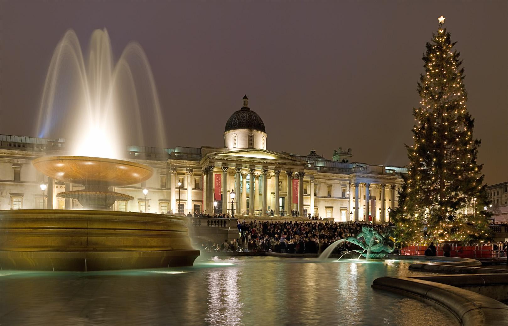 Noël à Londres / Trafalgar