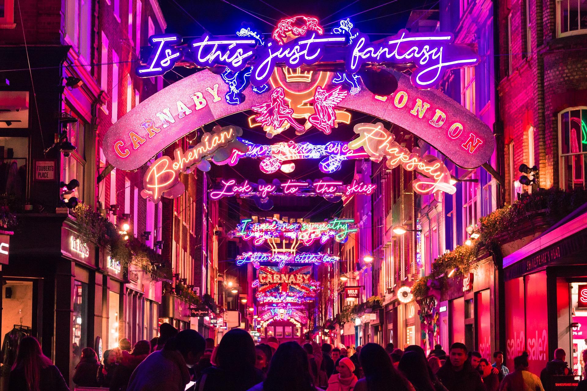 Noël à Londres / Carnaby Street