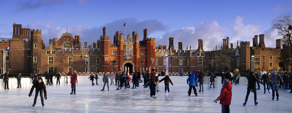 Noël à Londres / Hampton Court