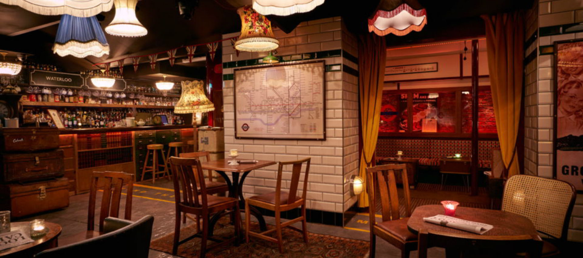 Cahoots restaurant nouvel an londres