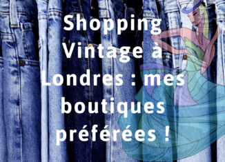 vintage londres shopping