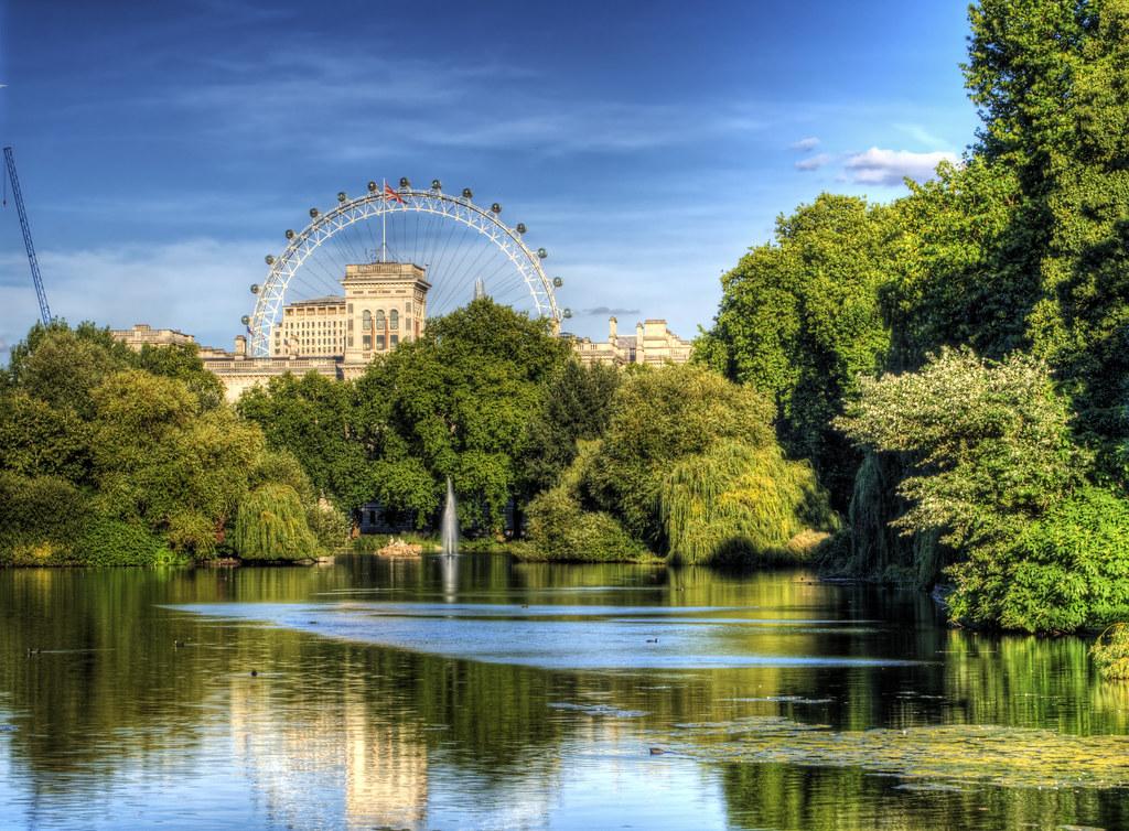itinéraire Londres